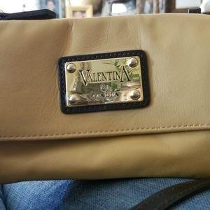 Valentina Calf skin small crossbody made in Italy